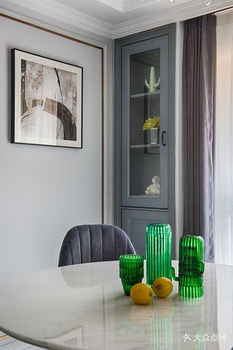 富裕型120平米三室一厅美式风格餐厅装修案例