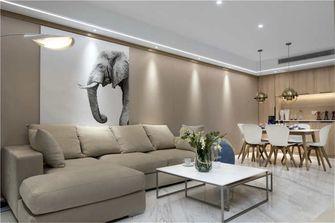 富裕型90平米日式风格客厅图片