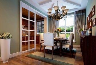 豪华型140平米四室两厅美式风格餐厅图