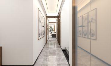 富裕型130平米别墅中式风格走廊效果图