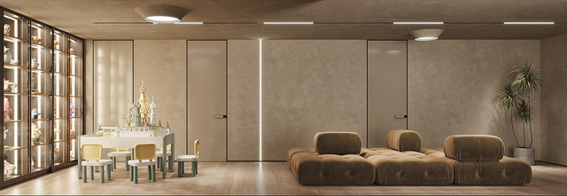 140平米别墅轻奢风格储藏室欣赏图