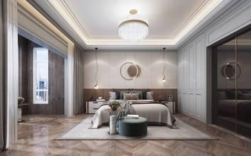 140平米复式现代简约风格卧室设计图