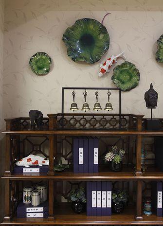10-15万120平米三室一厅东南亚风格书房设计图