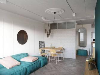 50平米公寓工业风风格客厅图片