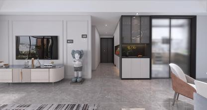 120平米三现代简约风格走廊图片