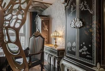 豪华型140平米四室三厅欧式风格书房图