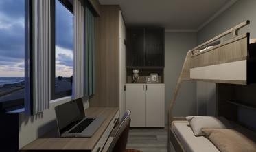 富裕型50平米公寓现代简约风格卧室图片