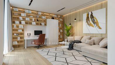 豪华型140平米四室两厅现代简约风格书房设计图