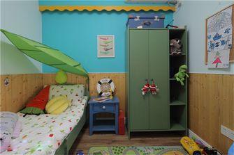 80平米田园风格青少年房装修图片大全