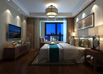 富裕型80平米公寓中式风格卧室设计图