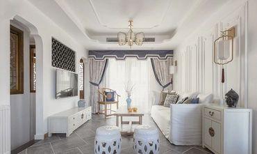 三室三厅混搭风格客厅效果图