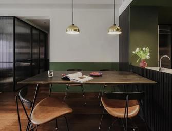5-10万110平米三室两厅新古典风格餐厅效果图