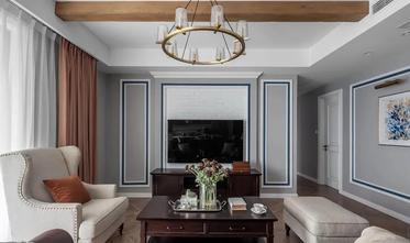 140平米四室一厅美式风格客厅图片
