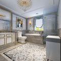 140平米别墅欧式风格卫生间欣赏图