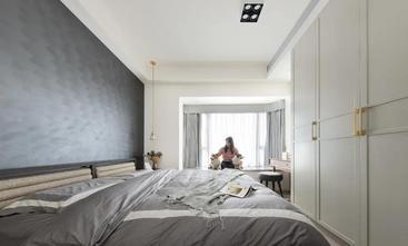 富裕型80平米三工业风风格卧室设计图