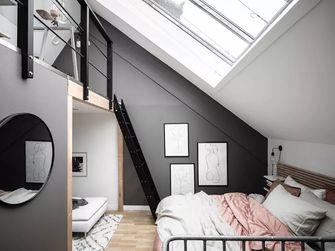 经济型60平米一室一厅欧式风格卧室图片大全