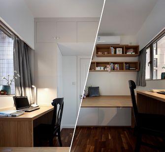 富裕型90平米三美式风格书房图片大全