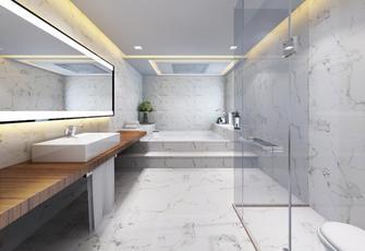 140平米别墅欧式风格卫生间效果图