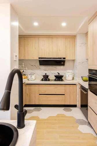 豪华型140平米四室两厅日式风格厨房图片大全