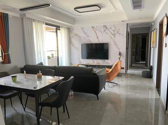 10-15万90平米三室四厅现代简约风格客厅装修案例