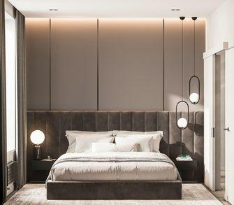 富裕型80平米三室两厅现代简约风格卧室欣赏图