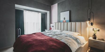 90平米三混搭风格卧室效果图