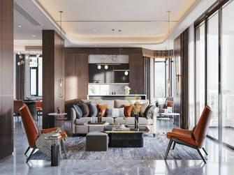 豪华型140平米四室两厅轻奢风格客厅欣赏图