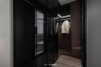 富裕型110平米三室两厅现代简约风格衣帽间欣赏图