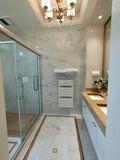 富裕型120平米三室两厅欧式风格卫生间效果图
