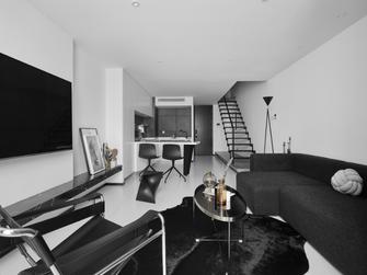50平米复式现代简约风格客厅装修案例