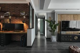 富裕型140平米三室一厅欧式风格走廊设计图