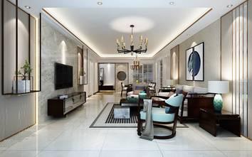 3万以下140平米四中式风格客厅装修图片大全