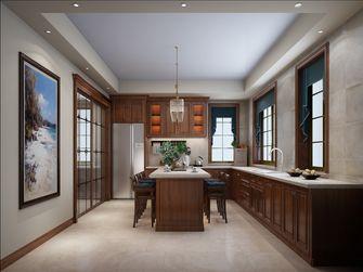 豪华型130平米别墅美式风格厨房欣赏图
