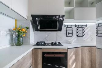 70平米一室一厅现代简约风格厨房图片大全