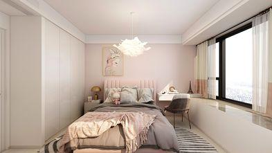 20万以上120平米三室两厅现代简约风格卧室图片大全