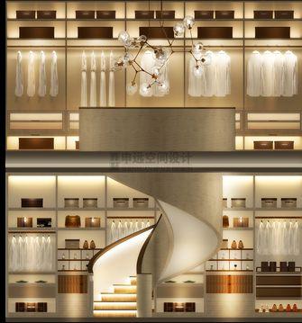 20万以上140平米别墅港式风格衣帽间设计图