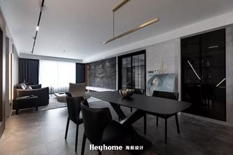 豪华型140平米四室一厅工业风风格餐厅图
