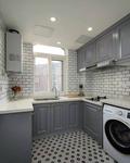 富裕型40平米小户型法式风格厨房效果图