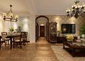 110平米三室两厅美式风格玄关装修案例