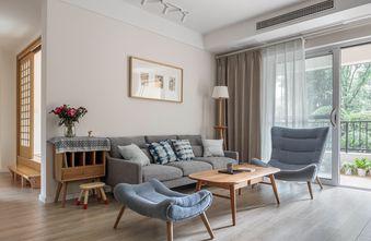 3万以下120平米三室两厅日式风格客厅设计图