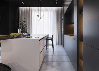 5-10万80平米一居室工业风风格厨房装修图片大全
