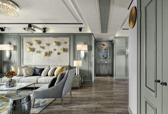 140平米三室一厅新古典风格玄关装修效果图
