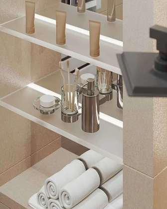 豪华型30平米小户型现代简约风格卫生间装修图片大全