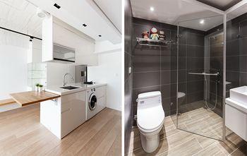 50平米一居室日式风格客厅效果图