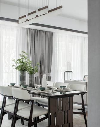 经济型90平米三室一厅中式风格餐厅装修案例