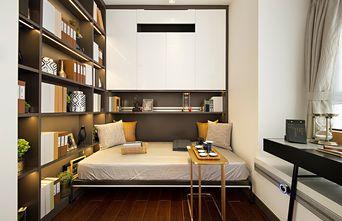 富裕型110平米三室两厅轻奢风格书房装修效果图