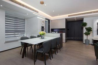 富裕型120平米三室两厅现代简约风格餐厅装修图片大全