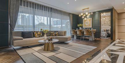 豪华型120平米三室一厅轻奢风格客厅图片