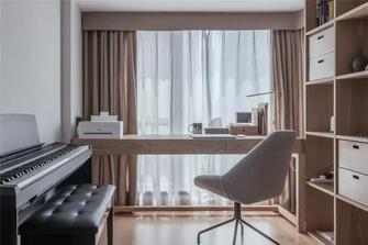 3-5万80平米日式风格书房装修案例
