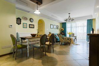 经济型90平米三室两厅田园风格餐厅设计图